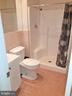 FULL BATHROOM - stand/sit shower - NEWER BATHROOM - 12101 FOUNTAIN DR, CLARKSBURG