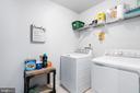 Upstairs laundry! - 10903 STOCKADE DR, SPOTSYLVANIA