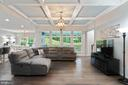 Coffer Ceiling, gorgeous lighting, awesome views - 17559 SPRING CRESS DR, DUMFRIES