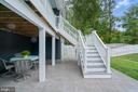 Easy access to the patio - 17559 SPRING CRESS DR, DUMFRIES