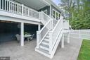 Check out this patio...it is huge - 17559 SPRING CRESS DR, DUMFRIES