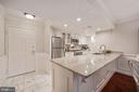 Front entrance and a remodeled open kitchen - 1276 N WAYNE ST #608, ARLINGTON