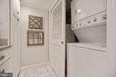 Laundry right in the kitchen - 1276 N WAYNE ST #608, ARLINGTON