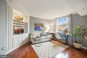 2nd bedroom for guests or office - 1276 N WAYNE ST #608, ARLINGTON