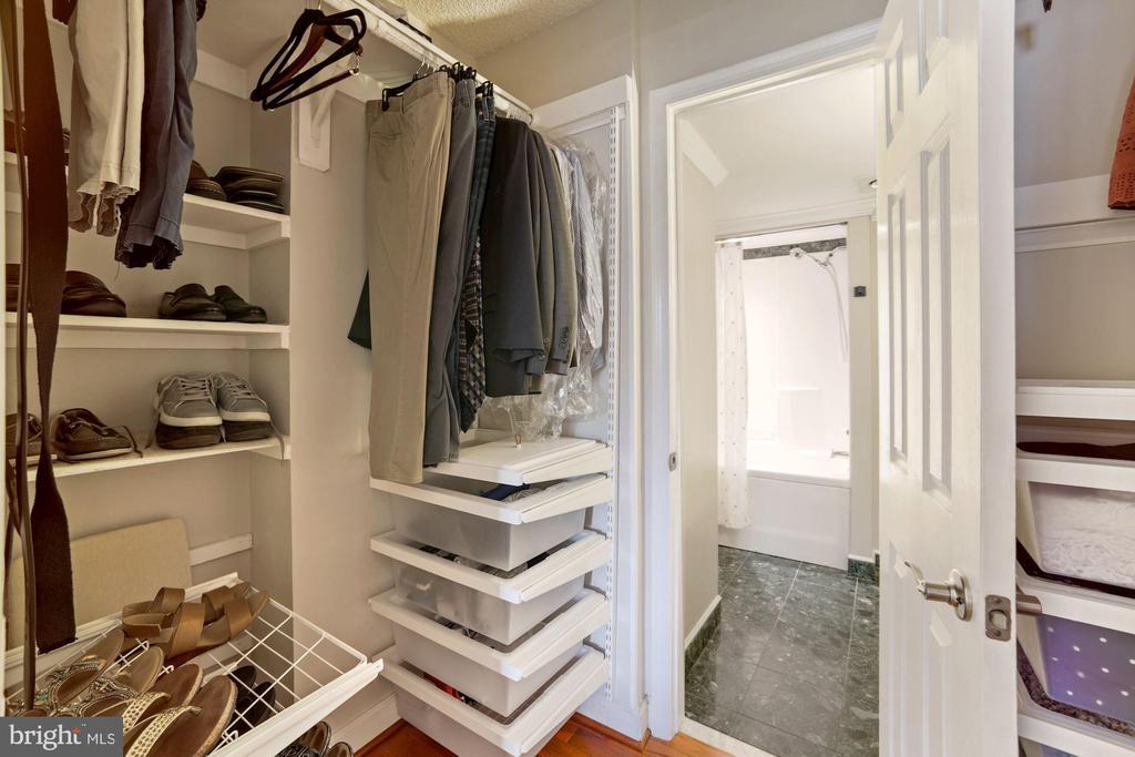 Large closet with custom built-ins - 1276 N WAYNE ST #608, ARLINGTON