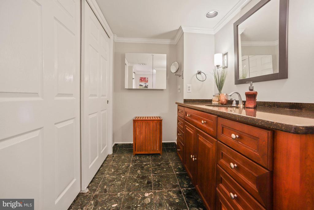 Master bath - 1276 N WAYNE ST #608, ARLINGTON