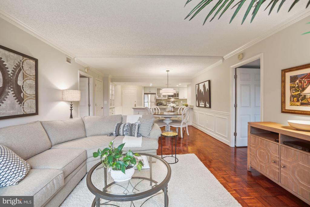 Family room - 1276 N WAYNE ST #608, ARLINGTON