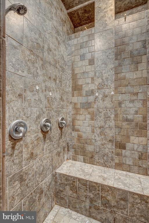 Walk in shower with multiple shower heads - 222 AUSTIN, STAFFORD