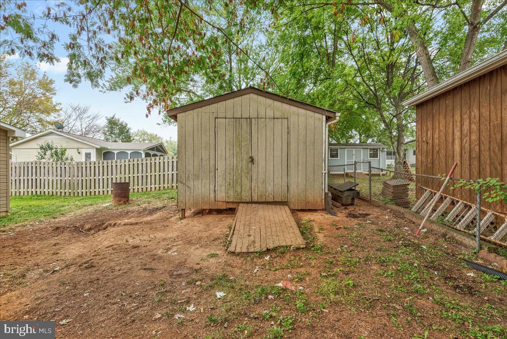Large shed with electric could be work shop. - 222 AUSTIN, STAFFORD