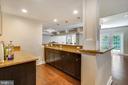 Wet Bar with Granite Countertops - 2539 DONNS WAY, OAKTON