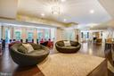 Grand Media Room with Plenty of Seating - 2539 DONNS WAY, OAKTON