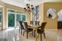 Abundance of Natural Light in Breakfast Room - 2539 DONNS WAY, OAKTON