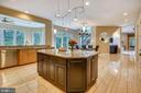 Kitchen is open to Sunroom & Breakfast Room - 2539 DONNS WAY, OAKTON