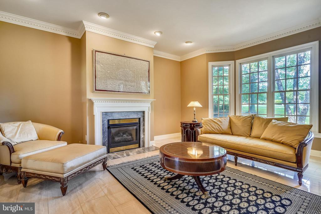 Living Room with one of 4 Fireplaces - 2539 DONNS WAY, OAKTON