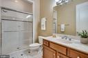 Private Bath for 5th Bedroom - 2539 DONNS WAY, OAKTON