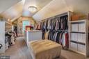 Boutique style Closet Serves Upper Level  Suite - 2539 DONNS WAY, OAKTON