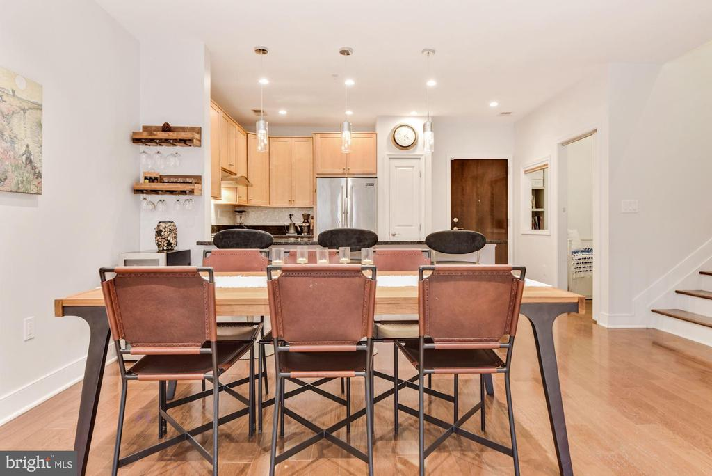 Dining Area - 1418 N RHODES ST #B116, ARLINGTON