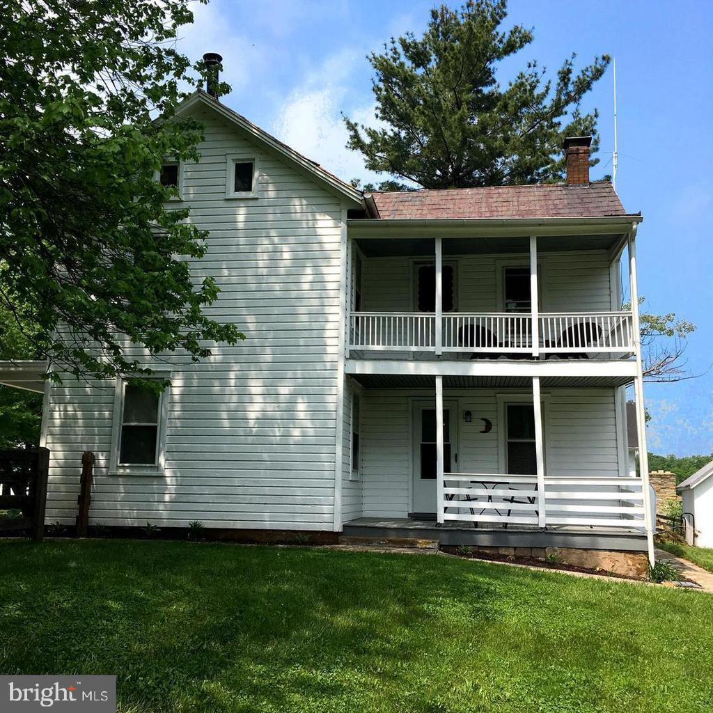 Double side porches! - 12823 BRICE RD, THURMONT