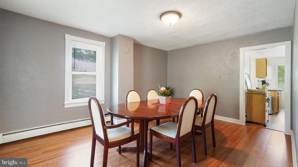 Dining Room flows to Kitchen - 12823 BRICE RD, THURMONT