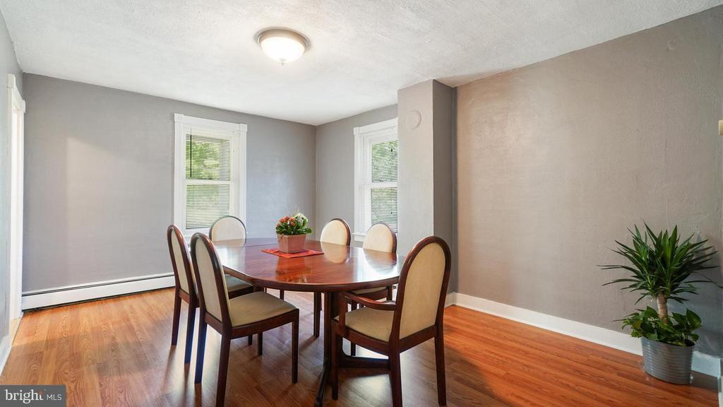 Large Separate Dining Room. - 12823 BRICE RD, THURMONT