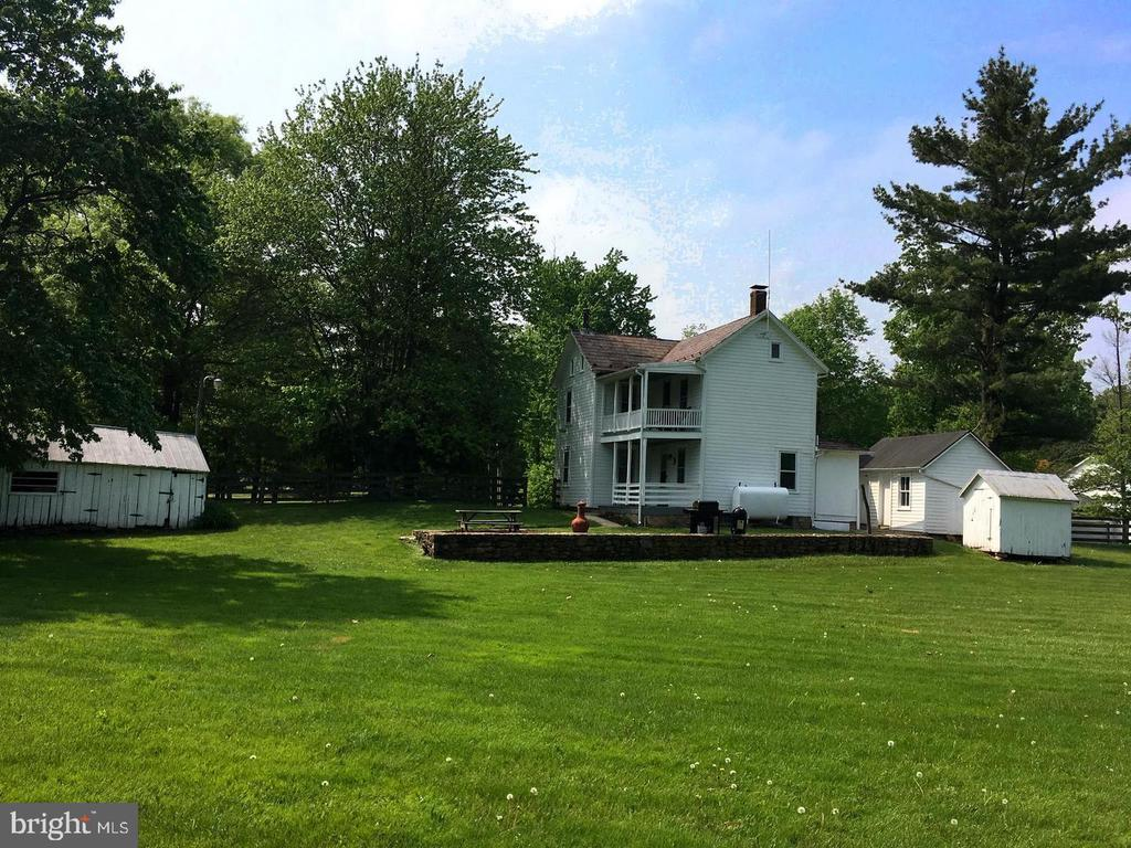 Wonderful open property with level yard. - 12823 BRICE RD, THURMONT