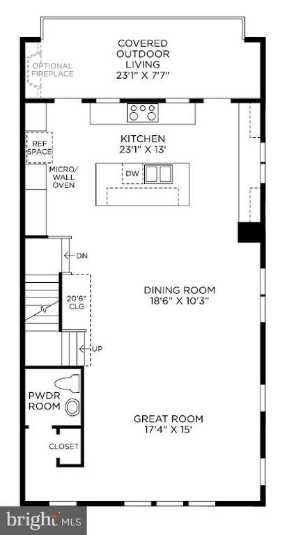 Living Level - 22139 PENELOPE HEIGHTS TER, ASHBURN
