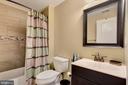 Recreation room level full bath. - 21260 PARK GROVE TER, ASHBURN