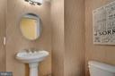 Half bath on main level - 21260 PARK GROVE TER, ASHBURN