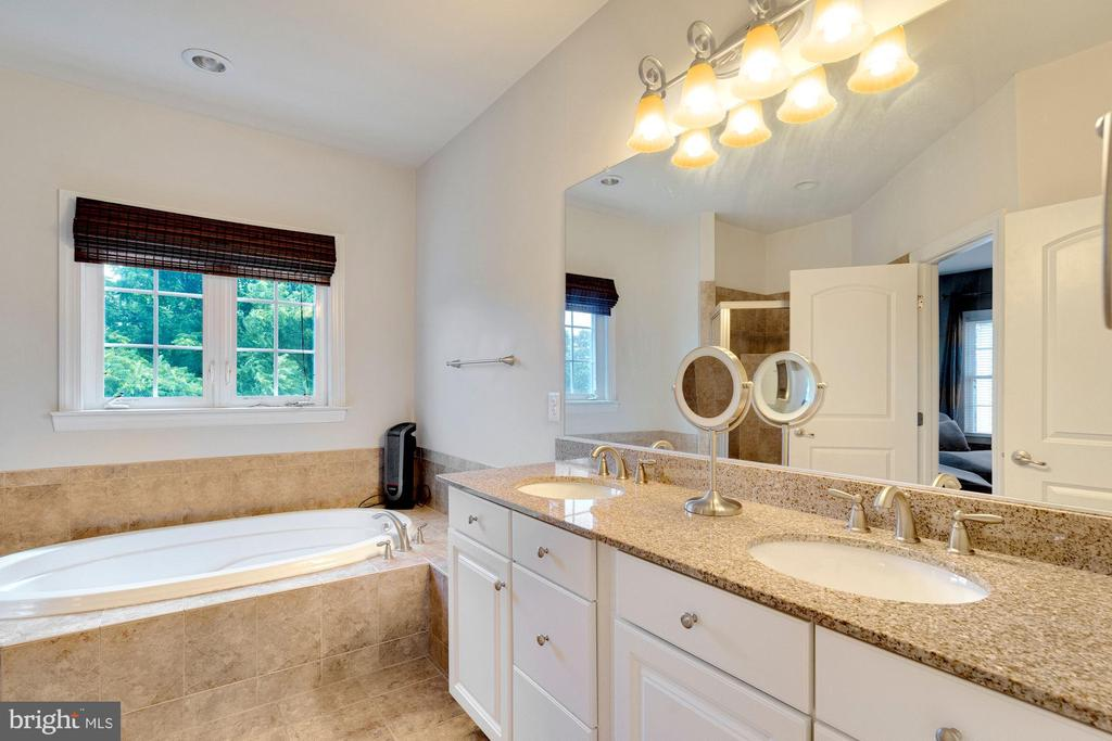 Primary bedroom bath - with shower enclosure - 21260 PARK GROVE TER, ASHBURN