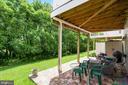 Paver patio - 21260 PARK GROVE TER, ASHBURN