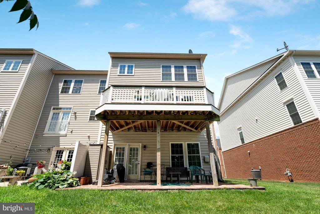 View looking up to the home. - 21260 PARK GROVE TER, ASHBURN
