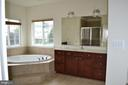 Master Bath with Large Soaking Tub - 24104 STONE SPRINGS BLVD, STERLING