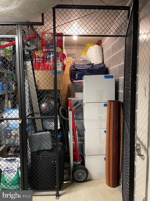1 Generously Sized Storage Unit Conveys w/ Home! - 1881 N NASH ST #307, ARLINGTON