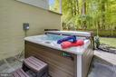 Salt water hot tub - 208 ROSALIE COVE CT, SILVER SPRING