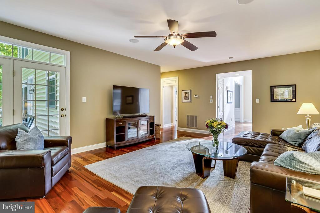 Open to deck. - 208 ROSALIE COVE CT, SILVER SPRING