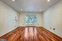 Bay Window provides lots of natural light - 1597 LEEDS CASTLE DR #101, VIENNA
