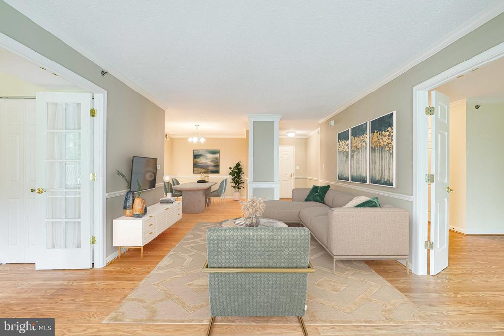 ROOM FOR EVERYONE IN YOUR FAMILY ROOM - 19385 CYPRESS RIDGE TER #102, LEESBURG