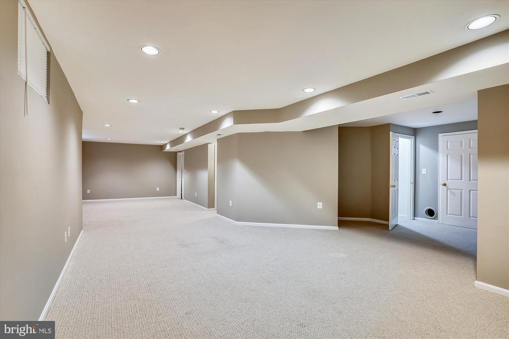 FULLY FINISHED LOWER LEVEL - 20672 PARKSIDE CIR, STERLING