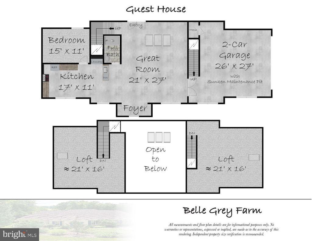 Guest House Floor Plam - 21281 BELLE GREY LN, UPPERVILLE