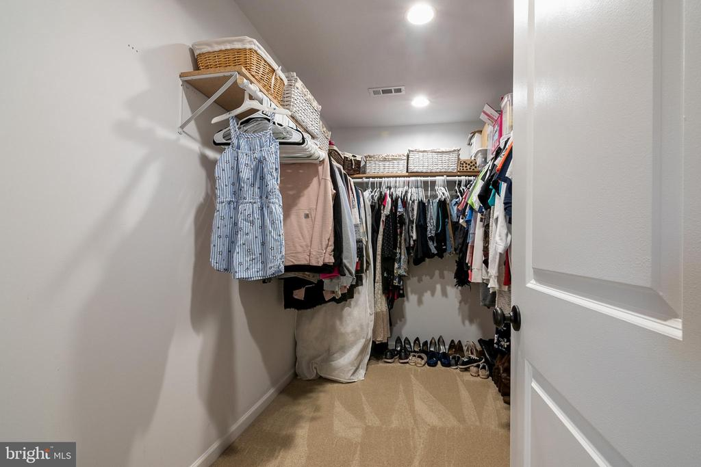 Primary Suite 2nd Walk-in Closet - 5363 SATTERFIELD DR, WOODBRIDGE