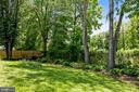 Backyard Landscaping - 6508 HAYSTACK RD, ALEXANDRIA