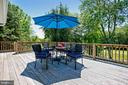 Upper Deck with View of Golf Course Views - 6508 HAYSTACK RD, ALEXANDRIA