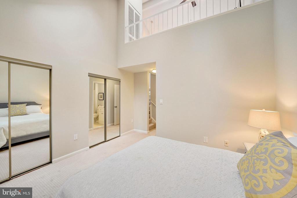 double closets and loft above - 4427 7TH ST N, ARLINGTON