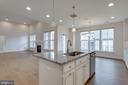 Open floor plan, extra recessed lighting thru out - 42758 AUTUMN DAY TERRACE, ASHBURN