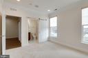 Huge 2nd main level bedroom and full bathroom. - 42758 AUTUMN DAY TERRACE, ASHBURN
