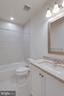 Upgraded tile, granite, and vanity 3rd bathroom - 42758 AUTUMN DAY TERRACE, ASHBURN