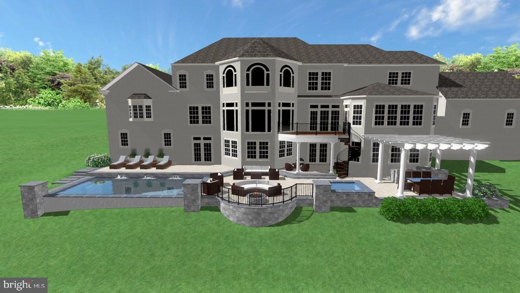 Proposed Outdoor Space - 2539 DONNS WAY, OAKTON