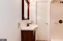 Lower Level Full Bathroom - 1607 PARK OVERLOOK DR, RESTON
