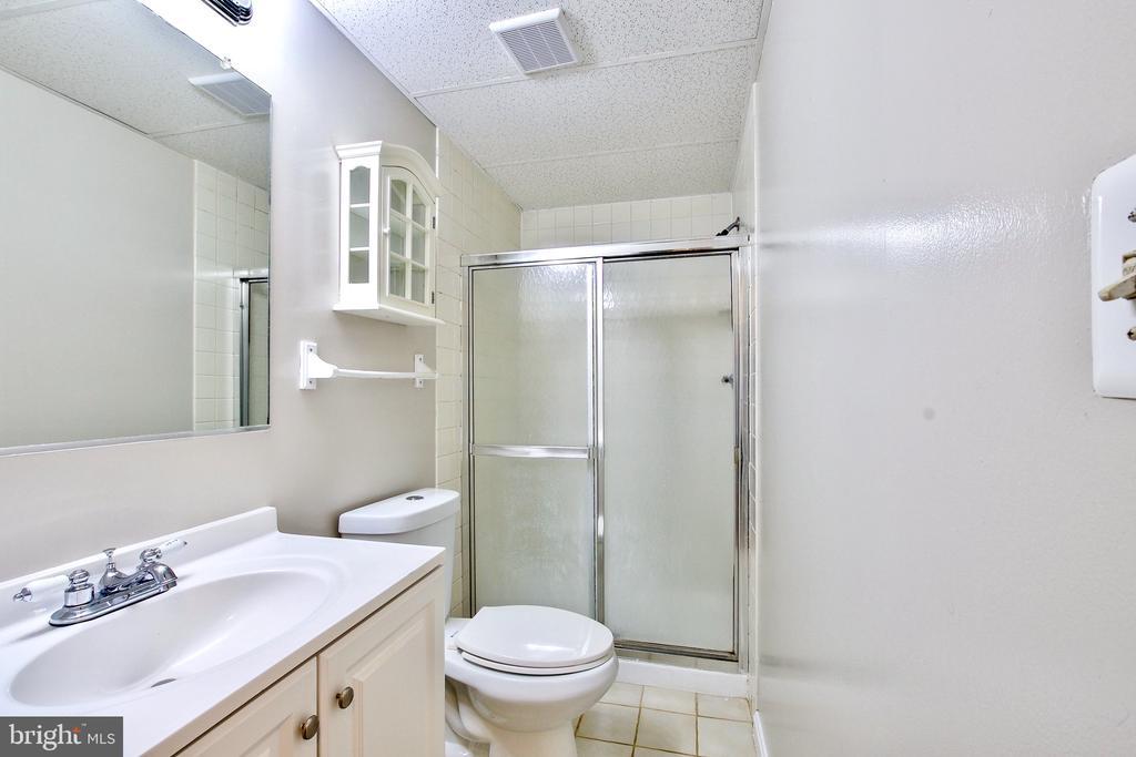 Lower Level Full Bathroom - 9453 CLOVERDALE CT, BURKE