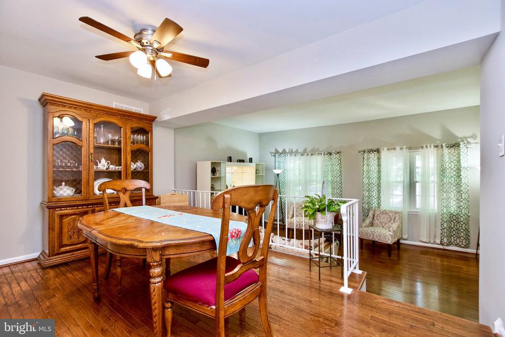 Formal Dining Room and Living Room - 9453 CLOVERDALE CT, BURKE